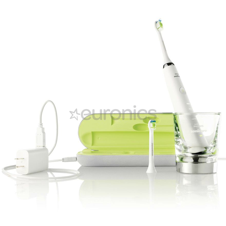a575bf9dd89 Rechargeable sonic toothbrush Sonicare DiamondClean, Philips, HX9332,  B0053TBSR2