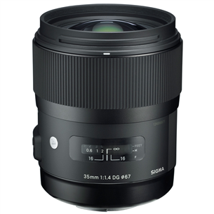 35mm F1.4 DG HSM / A lens for Nikon, Sigma