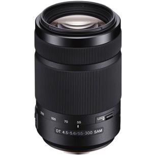 Телеобъектив DT 55-300 мм F4.5-5.6, Sony