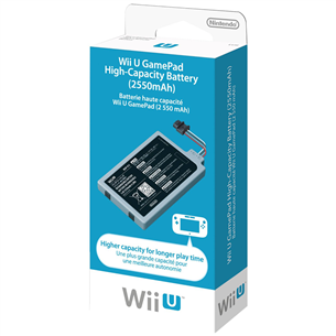 Tagavara aku Wii U GamePadile, Nintendo / 2550 mAh