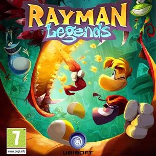 Nintendo Wii U mäng Rayman Legends