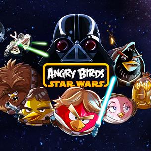 Nintendo Wii U mäng Angry Birds: Star Wars
