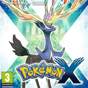 Nintendo 3DS mäng Pokemon X