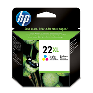 Cartridge NR 22XL, HP