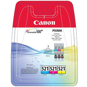 Cartridge CLI-521 C/M/Y, Canon
