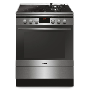 Combined cooker with electric oven, Hansa (60 cm) FCMX69215