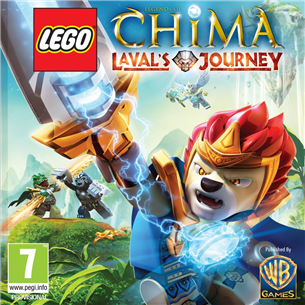 Nintendo 3DS mäng LEGO Legends of Chima: Laval´s Journey