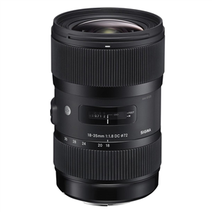 18-35mm 1.8 DC HSM ART lens for Canon, Sigma