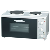 Minioven with 2 burners Rommelsbacher