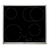 Built-in hob, AEG / 2 ceramic + 2 induction heat element