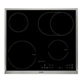 Комбинированная варочная поверхность, AEG / 2 керамических + 2 индукционных нагревательных элемента