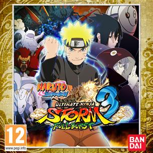 PlayStation 3 mäng Naruto Shippuden: Ultimate Ninja Storm 3