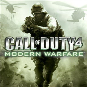Xbox360 mäng Call of Duty 4: Modern Warfare