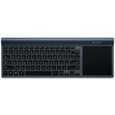 Wireless keyboard with touch pad TK820, Logitech / SWE