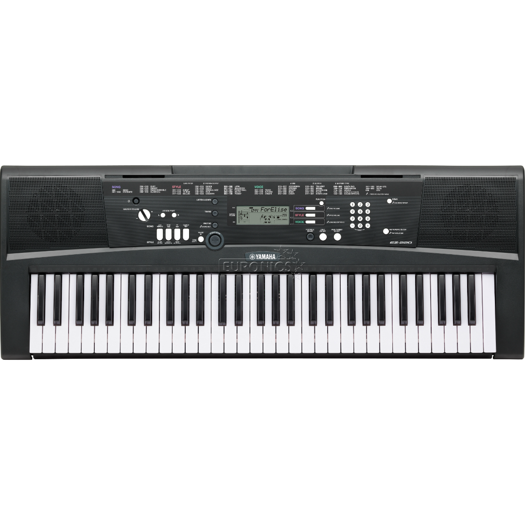 Portable keyboard yamaha ez220 for Yamaha credit application