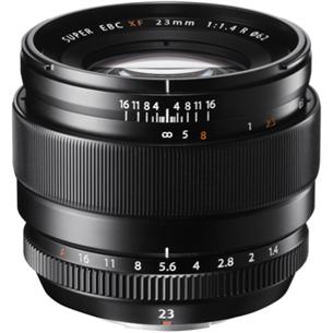 Objektiiv Fuji XF 23mm f/1.4 R, Fujifilm