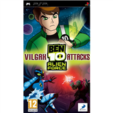 PlayStation Portable mäng Ben 10: Alien Force Vilgax Attack