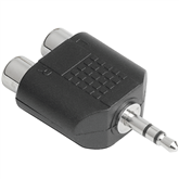 Audio adapter 2x RCA to 3,5 mm Hama