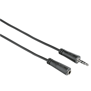Audio extension cable 3.5 mm Hama (3 m)