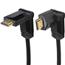 Juhe kullatud pöörlev HDMI 1.4 Hama (1,5 m)