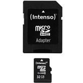 Micro SDHC memory card + adapter Intenso (32 GB)