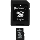 Micro SDHC memory card + adapter Intenso (64 GB)