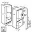 Integreeritav külmik, AEG / kõrgus: 178 cm