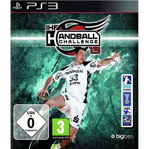 PlayStation 3 mäng IHF Handball Challange 2014