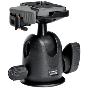 Compact ballhead with quick release 496RC2, Manfrotto