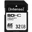 SDHC mälukaart (32 GB), Intenso