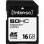 SDHC mälukaart (16 GB), Intenso