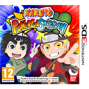 Nintendo 3DS mäng Naruto Powerful Shippuden