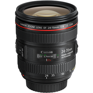 EF 24-70mm f/4L IS USM lens, Canon