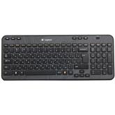 Juhtmeta klaviatuur K360, Logitech / RUS