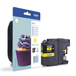Ink cartridge Brother LC123Y