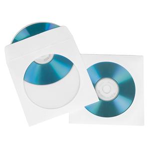 Бумажные конверты для CD/DVD Hama (50 шт.)