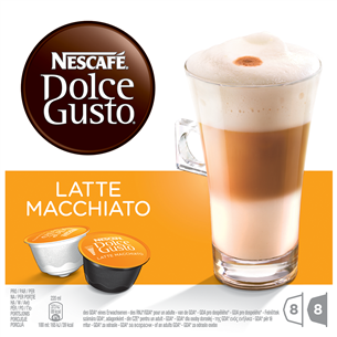 Kohvikapslid Nescafe Dolce Gusto Latte Macchiato, Nestle