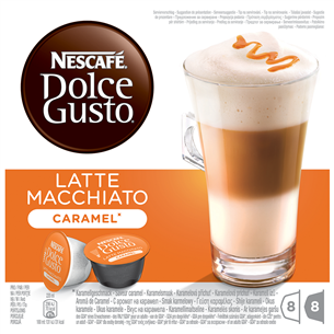 Kohvikapslid Nescafe Dolce Gusto Caramel Latte Macchiato, Nestle