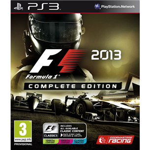 PlayStation 3 mäng F1 2013 Complete Edition