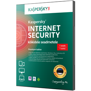 Kaspersky Internet Security 1. arvutile (1 a)
