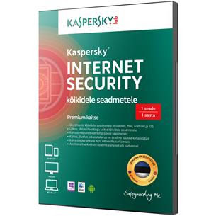 Kaspersky Internet Security uuendus 2. arvutile (1 a)