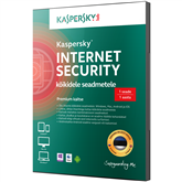 Kaspersky Internet Security 3. arvutile (1 a)