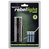 LED-taskulamp Tecxus Rebellight X130