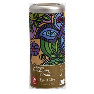 Teepadjad Rooibos Cinnamon Vanilla, Tea of Life