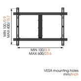 Teleri seinakinnitus Vogel´s W52080 (40-65)
