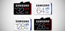 Компания Samsung выпускает первые в мире высокоскоростные карты памяти стандарта UFS
