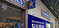 Магазин Euronics в торговом центре Lõunakeskus расширяет свою торговую площадь!