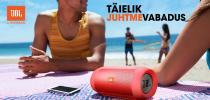 JBL-i juhtmevabad kõlarid ja kõrvaklapid