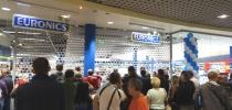 Avasime uuenenud Euronicsi kaupluse Riia kaubanduskeskuses Mols