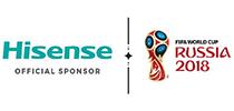 Hisense on FIFA 2018. aasta jalgpalli maailmameistrivõistluste ametlik sponsor
